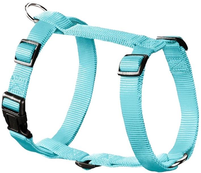 Шлейка для собак Hunter Smart Ecco Sport S нейлон бирюзовая 15 мм 30 – 45/33 – 54 см (1 шт)