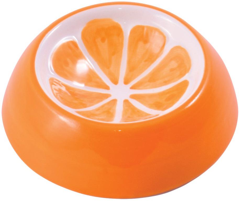 Миска для грызунов керамическая КерамикАрт Апельсин
