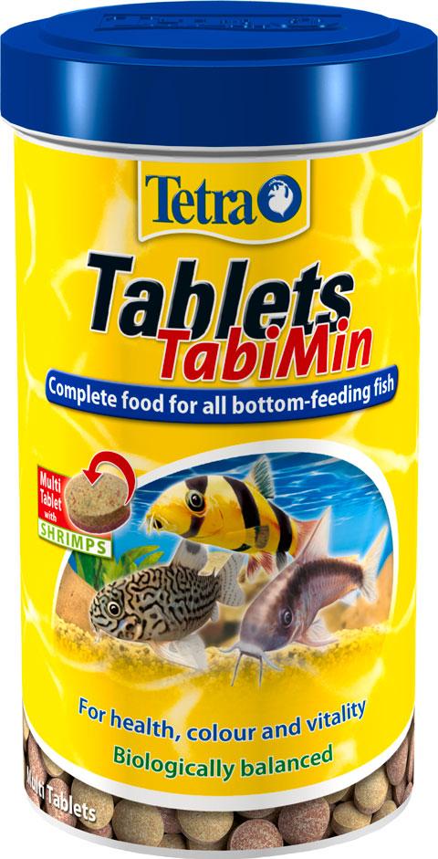 Tetra Tablets Tabimin – Тетра корм-таблетки для донных рыб (1040 табл) фото