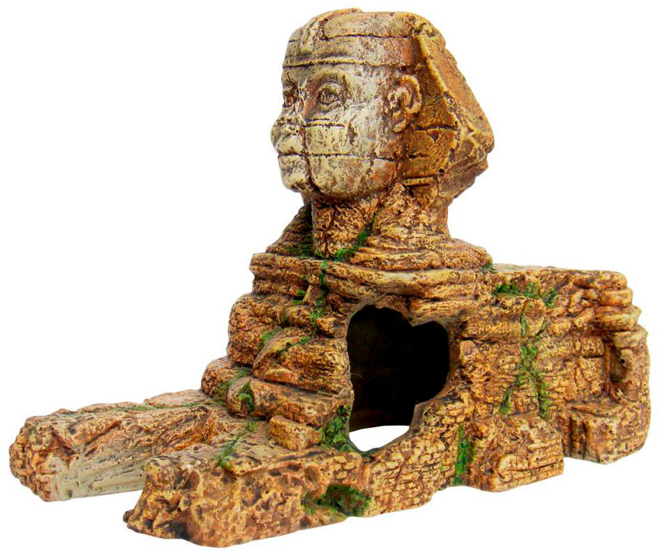 Картинка - Декорация для аквариума Prime Статуя Сфинкса 21,5 х 10,5 х 14,5 см (1 шт)