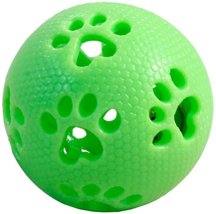 Triol игрушка для собак Мяч-лапки из термопластичной резины 7 см (1 шт)
