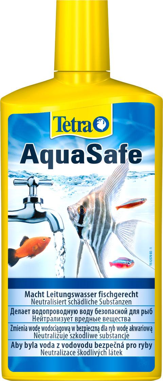 Фото - Tetra Aquasafe – Тетра средство для подготовки водопроводной воды (250 мл) tetra torumin средство для подготовки водопроводной воды 250 мл