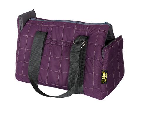 Pride сумка-переноска Сапсан фиолетовая 39 х 24 х 24 см (1 шт).