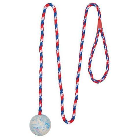 "Trixie игрушка для собак ""Мяч на веревке""   (100 см/5 см)"