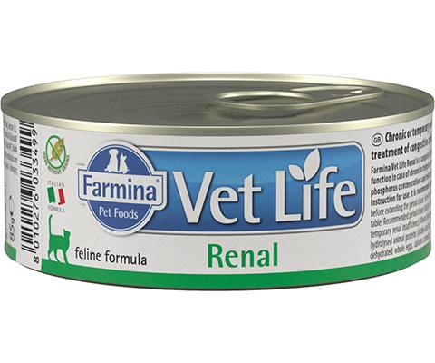Farmina Vet Life Feline Renal для взрослых кошек при заболеваниях почек 85 гр (85 гр)