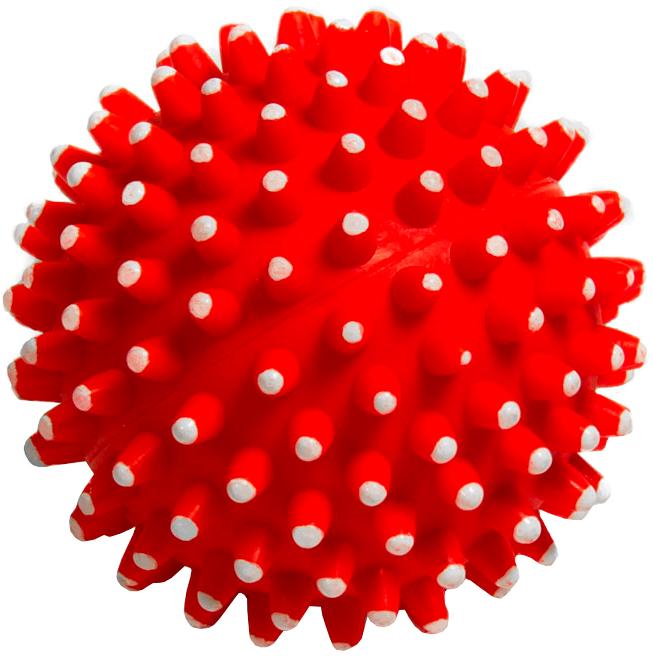Triol игрушка для собак «Мяч игольчатый», 7 см (1 шт)