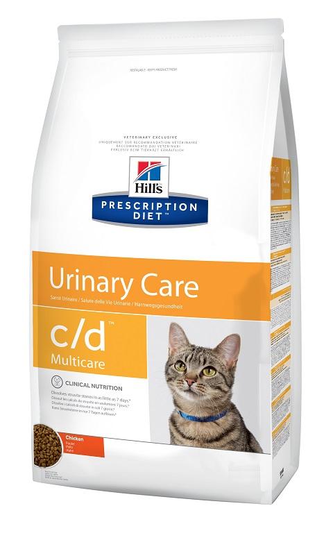 Hill's Prescription Diet Multicare с/d Chicken для взрослых кошек при мочекаменной болезни (струвиты) с курицей (1,5 кг) фото