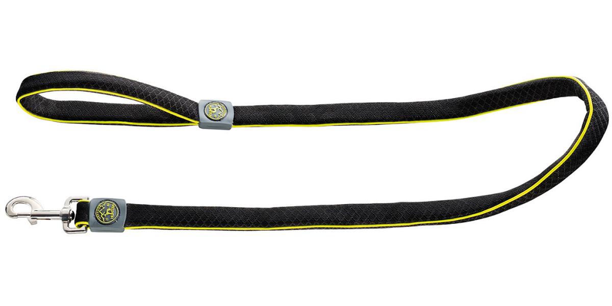 Поводок для собак Hunter Maui сетчатый текстиль черный 20 мм 140 см (1 шт)