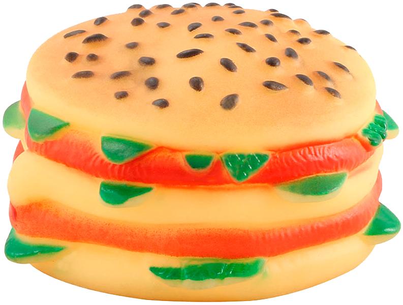 Triol игрушка для собак «Чизбургер», 9 см (1 шт)