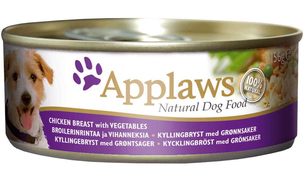 Applaws для взрослых собак с курицей, овощами и рисом 156 гр (156 гр х 12 шт)