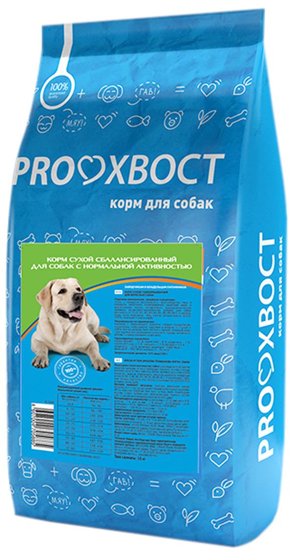 Proхвост для взрослых собак с нормальной и низкой активностью с мясным ассорти (10 кг) фото
