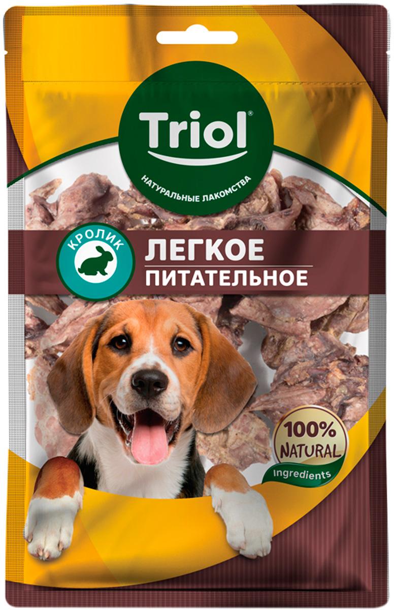 Лакомство Triol для собак легкое кроличье питательное 40 гр  (1 шт)