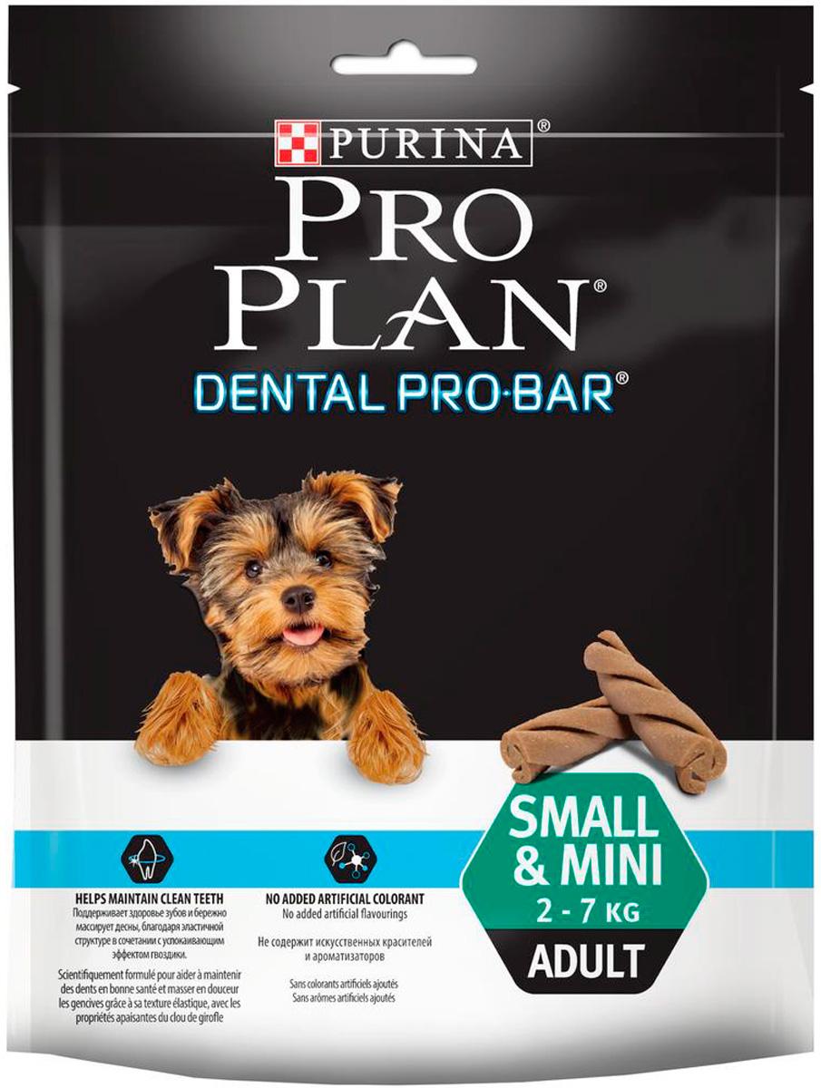 Лакомство Pro Plan Dental Pro Bar Small & Mini для собак маленьких пород для зубов 150 гр (1 шт)
