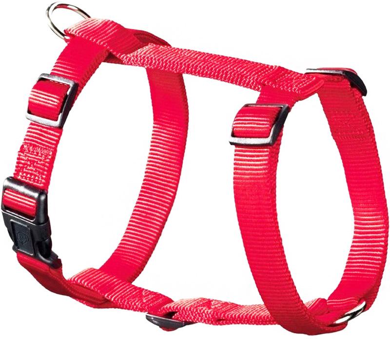 Шлейка для собак Hunter Smart Ecco Sport L нейлон красная 25 мм 54 – 87/59 – 100 см (1 шт)
