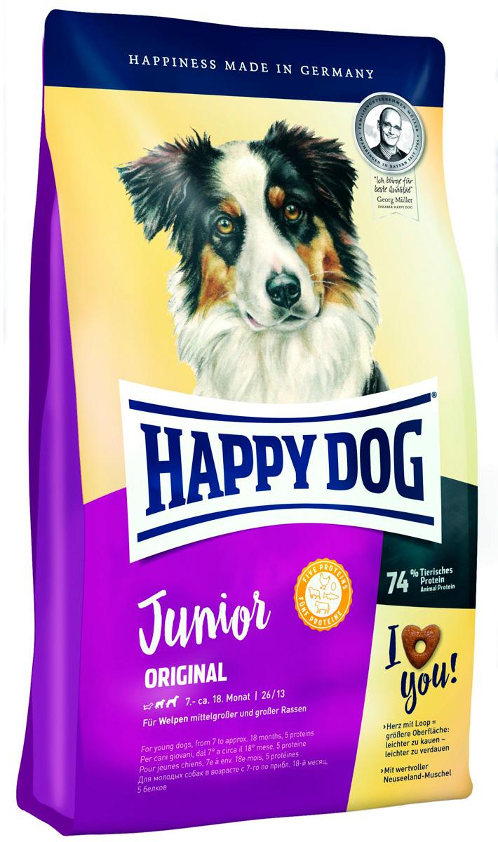 Happy Dog Supreme Junior Original для юниоров средних и крупных пород (10 кг)
