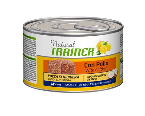 Trainer Natural Small & Toy Chicken & Rice для взрослых собак маленьких пород с курицей и рисом 150 гр (150 гр) фото