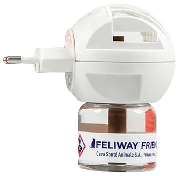 Феромон Feliway Friends для кошек электрический диффузор и сменный флакон Ceva (1 шт)