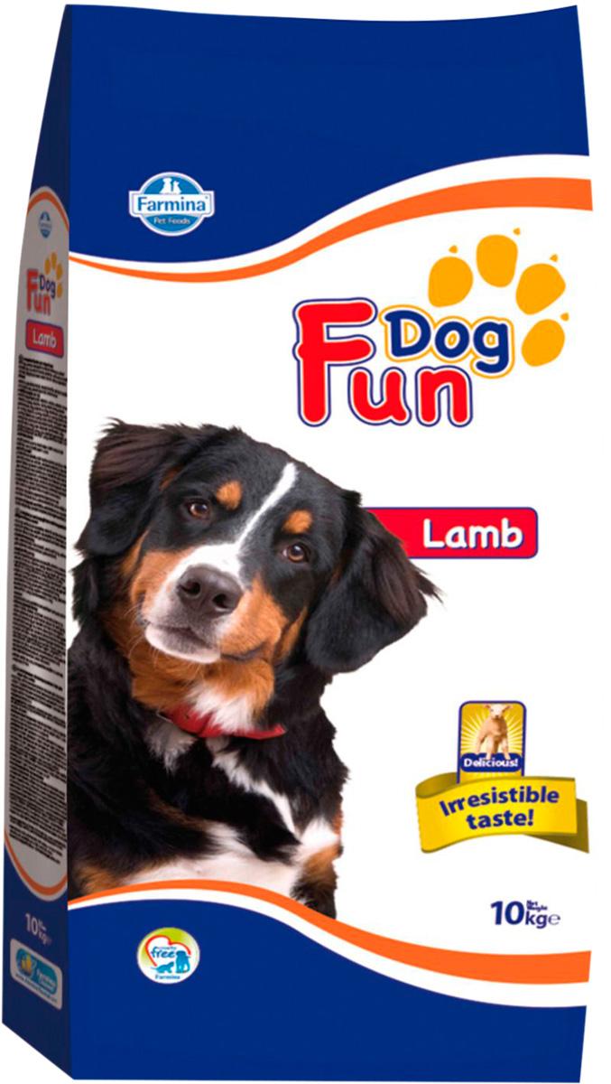 Fun Dog Adult Lamb для взрослых собак всех пород с ягненком (10 + 10 кг)