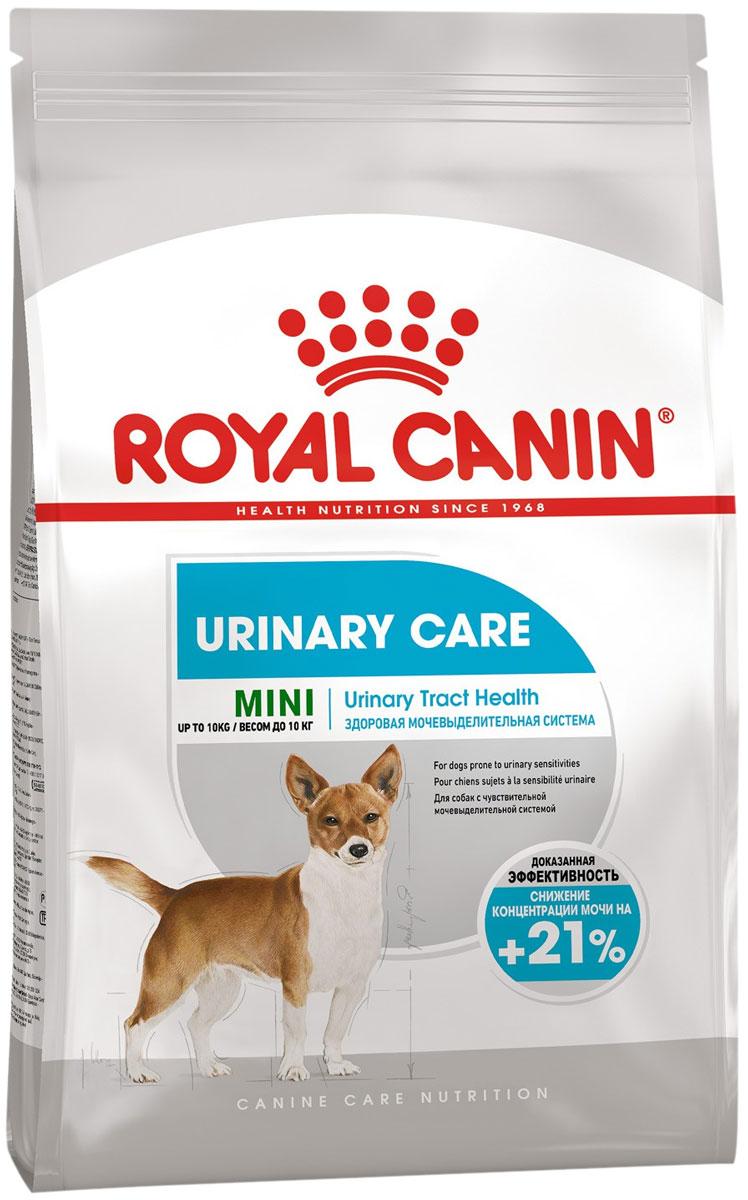 Royal Canin Mini Urinary Care для взрослых собак маленьких пород при мочекаменной болезни (3 + 3 кг)