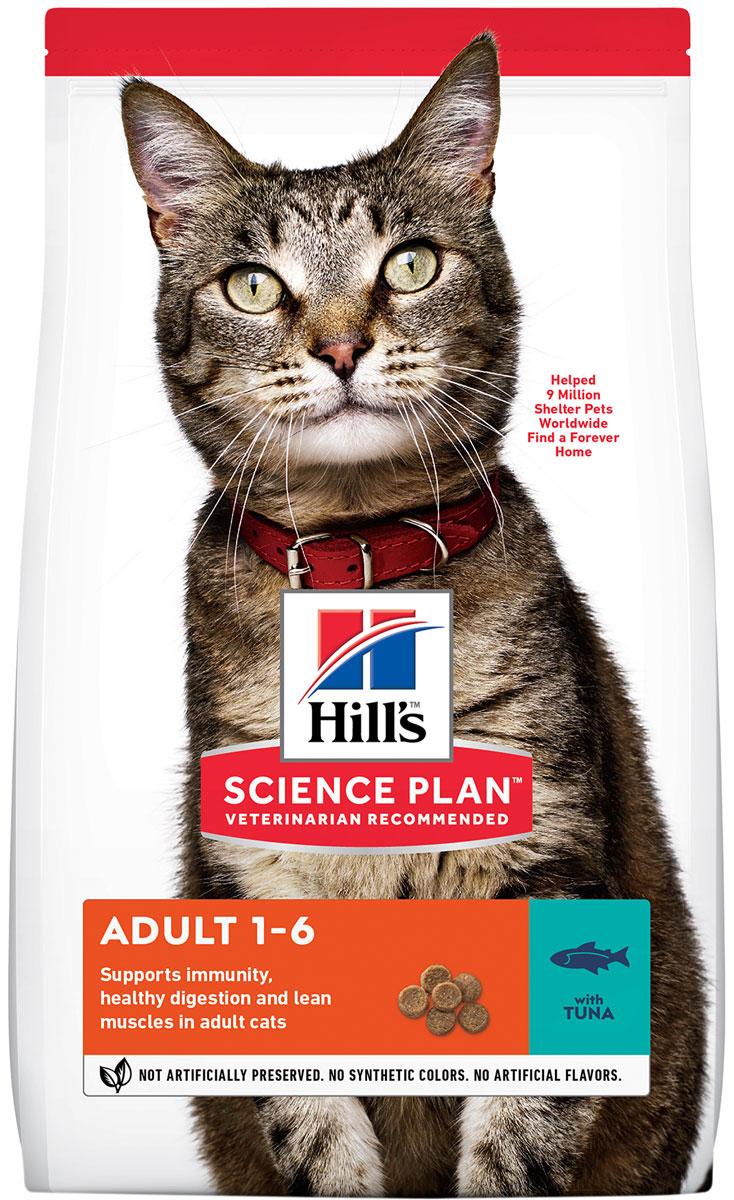 Hill's Science Plan Feline Adult Tuna для взрослых кошек с тунцом (2 кг)