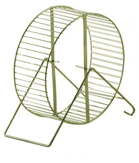 дарэлл колесо для грызунов с подставкой, металл