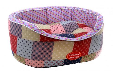 Лежак для кошек Премиум № 2 Лето в деревне 49 х 43 х 17 см Родные Места (1 шт) зина cурова лето в деревне