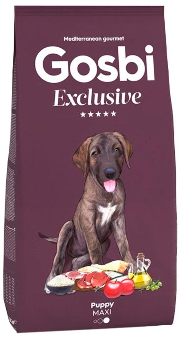 Gosbi Exclusive Puppy Maxi для щенков крупных пород с курицей (3 кг)