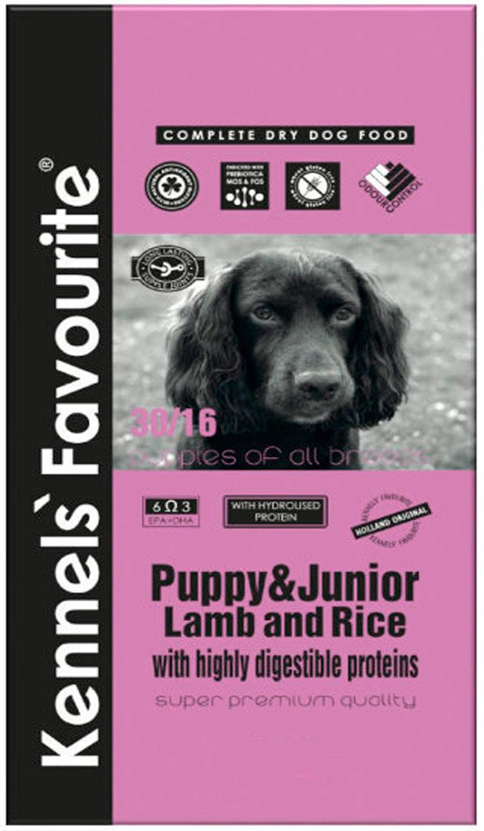 Купить со скидкой Kennels` Favourite Puppy & Junior Lamb & Rice для щенков всех пород с ягненком и рисом (20 кг)