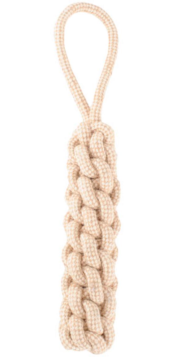 Игрушка для собак Triol Natural 3d плетение хлопок джут 18 см 31 см (1 шт)