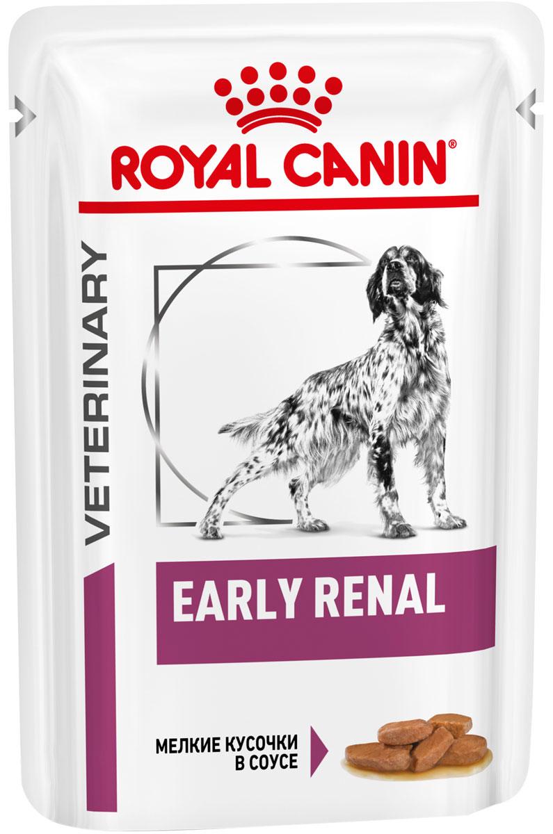Royal Canin Early Renal Canine для взрослых собак при хронической почечной недостаточности в ранней стадии в соусе 100 гр (100 гр х 12 шт)