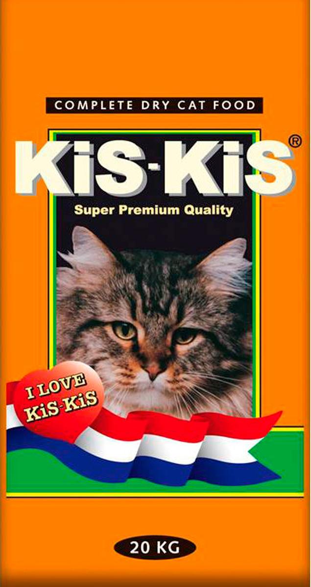 Kis-kis Poultry Mix для взрослых кошек с птицей (20 кг)