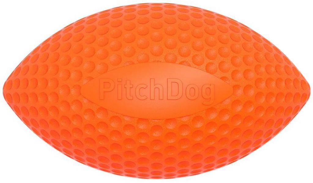 Игрушка для собак Sportball мяч регби 9 см оранжевый PitchDog (1 шт)