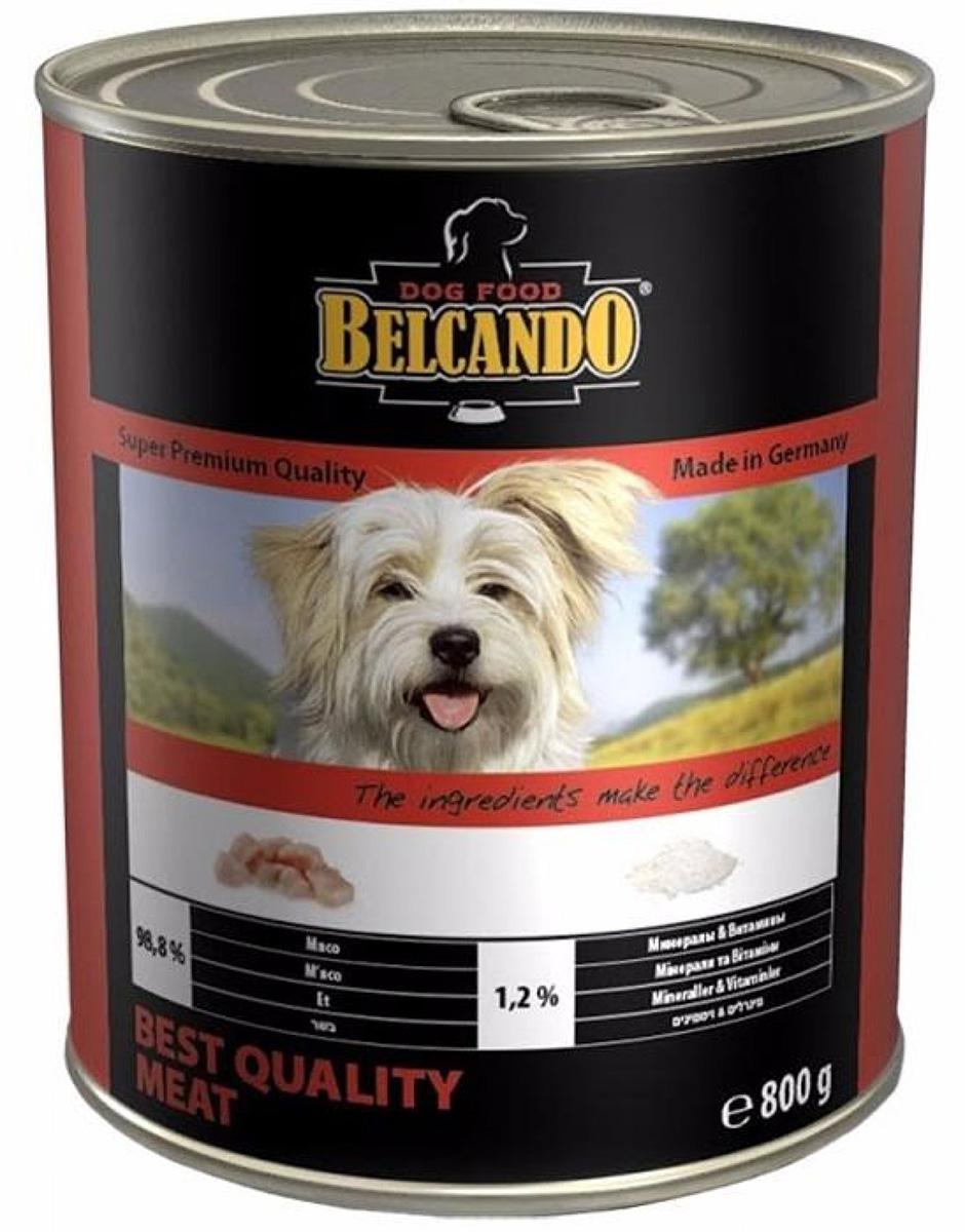 Belcando Best Quality Meat для взрослых собак с отборным мясом (400 гр х 12 шт)