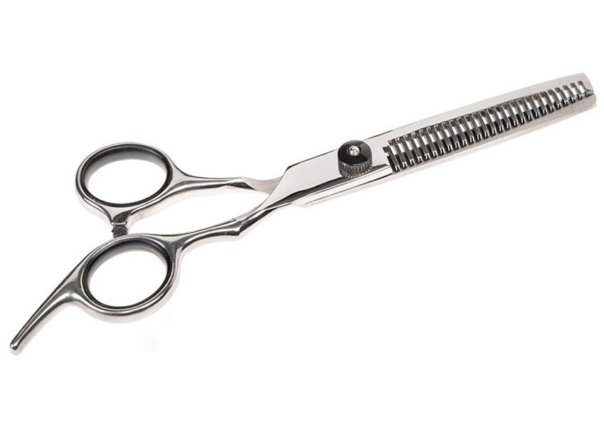 Ferplast ножницы для груминга Gro 5784 Premium филировочные металлические (1 шт)