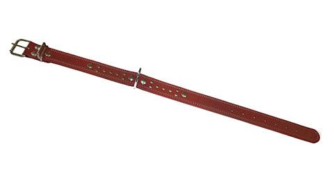 Ошейник для собак кожаный коньячный 52 - 70 см x 35 мм Аркон (1 шт)