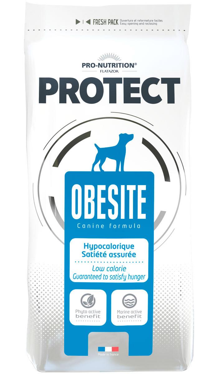Flatazor Protect Obesite диетический для взрослых собак всех пород (12 кг) фото