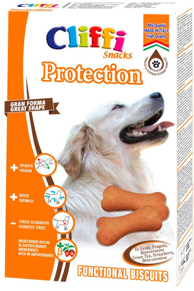 Лакомство Cliffi Protection Анти-Стресс для взрослых собак крупных пород бисквиты 350 гр (1 шт)