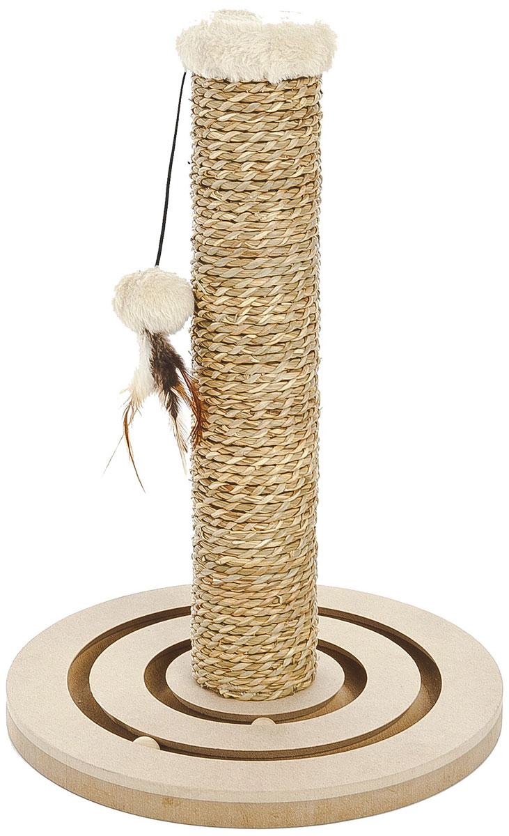 Комплекс когтеточка для кошек Ferribiella Legno Puzzle Форпост 42 х 30 см (1 шт)