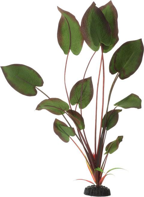 Растение для аквариума шелковое Эхинодорус бархатный Barbus Plant 043 (50 см)