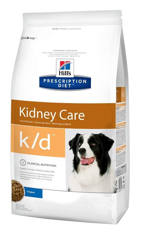 Hill's Prescription Diet K/d для взрослых собак при заболеваниях почек (12 кг) фото