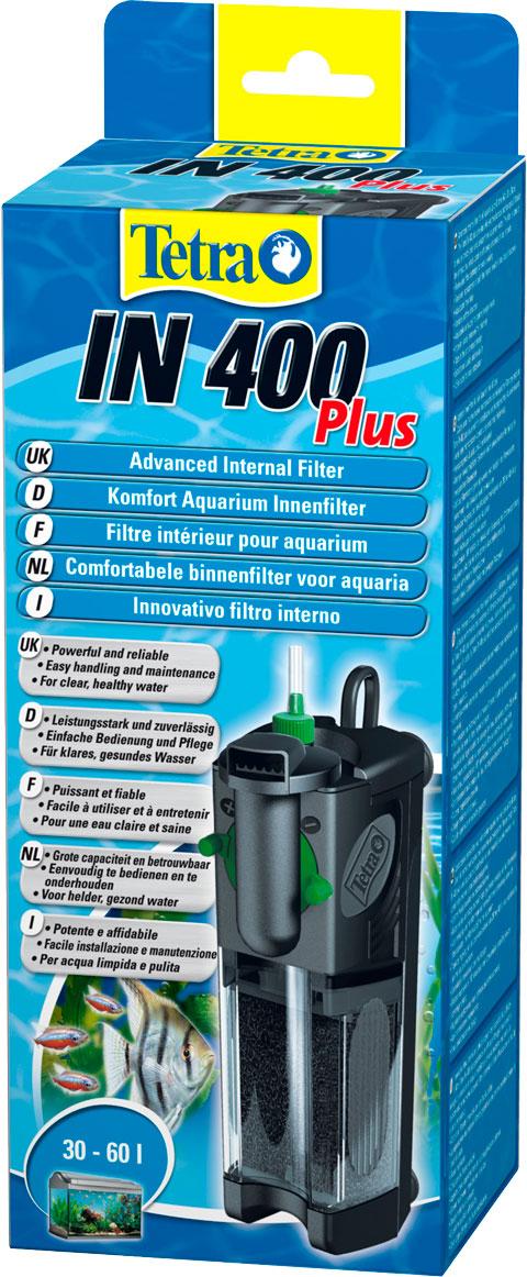 Внутренний фильтр Tetra In 400 Plus для аквариумов объемом до 60 л (1шт)