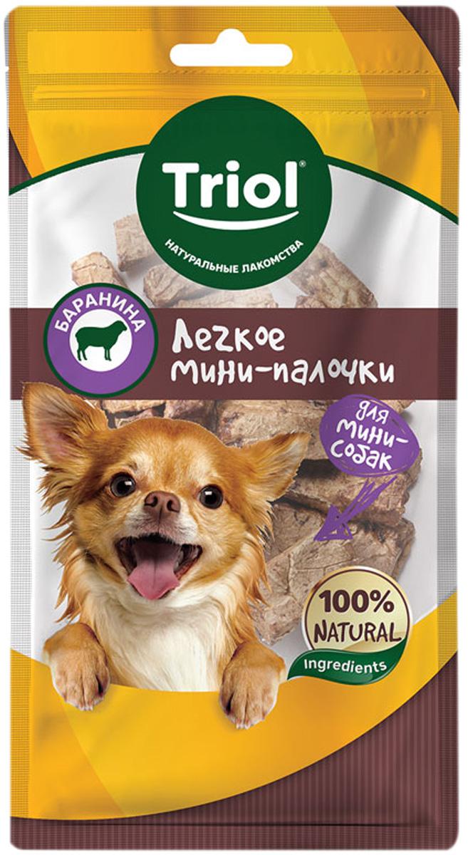 Лакомство Triol для собак маленьких пород мини палочки легкое баранье 30 гр (1 шт)