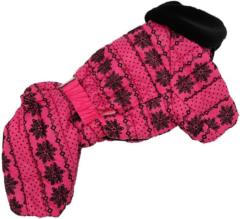 For My Dogs комбинезон для собак розовый для девочек Fw637-2018 F (16)