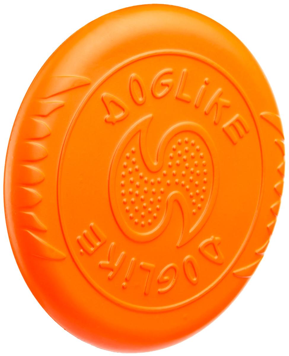 Летающий диск для собак Doglike Fly оранжевый (1 шт)