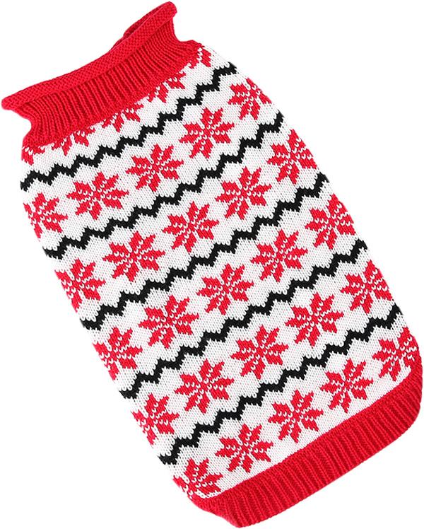 For My Dogs свитер для собак красно/белый Fw661-2018 (10-12)