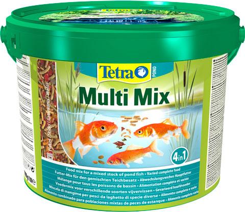 Tetra Multi Mix - Тетра корм для прудовых рыб, смесь (1 л) фото