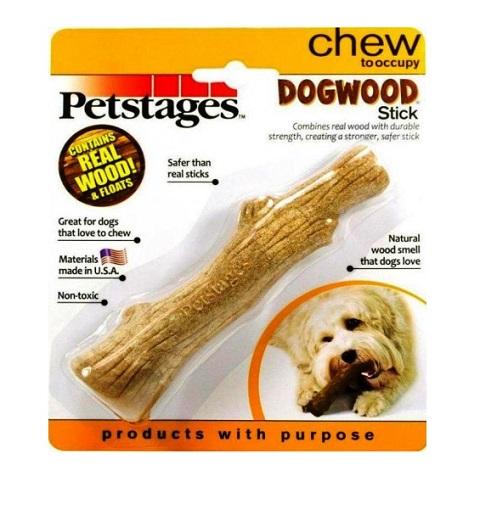 Petstages игрушка для собак Dogwood «Палочка деревянная», малая (1 шт)