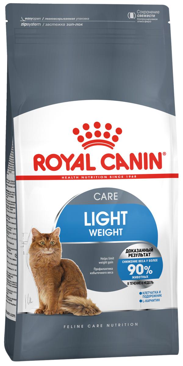 Royal Canin Light Weight Care диетический для взрослых кошек (1,5 кг)