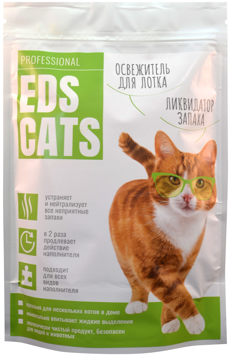 Ликвидатор запаха Eds Cats для кошек (400 гр)