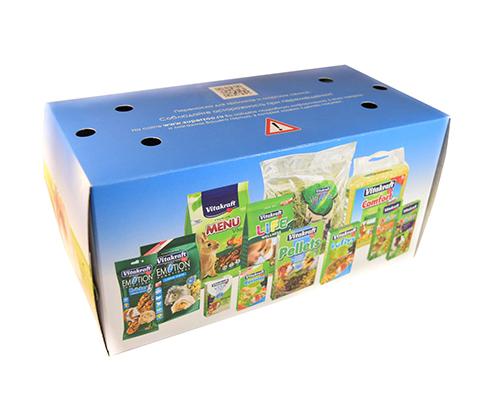 Vitakraft переноска картонная для мелких грызунов (1 шт).